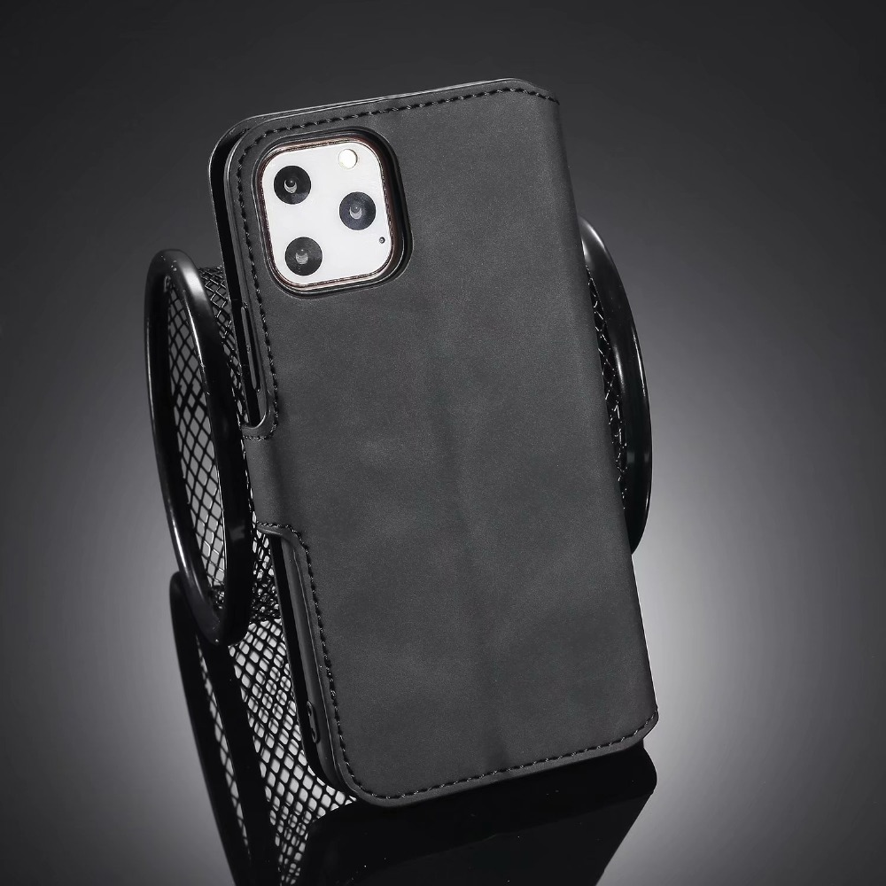Premium Leather Flip Wallet Case for iPhone 11/11 Pro/11 Pro Max 12