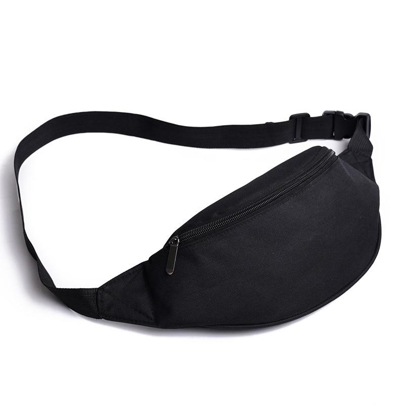 Waist Pack Female Mobile Pouch Bags For Women Girls Fanny Pack Pillow Chest Canvas Belt Waist Bum Bag Travel Phone Pocket