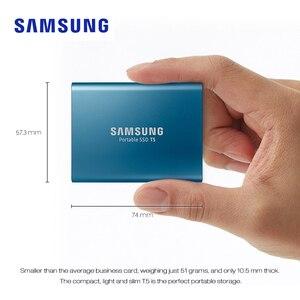 Image 2 - SAMSUNG Esterno Portatile SSD T5 USB3.1 250GB 500GB 1TB Hard Disk Esterno Unità A Stato Solido HDD per desktop Del Computer Portatile