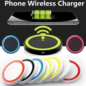 Wireless Charger Fast Charging Pad for Samsung S9 S8 Plus S7 S6 edge Note 8 5 for iPhone X 8 8 plus for HTC USB Phone Charger(China)