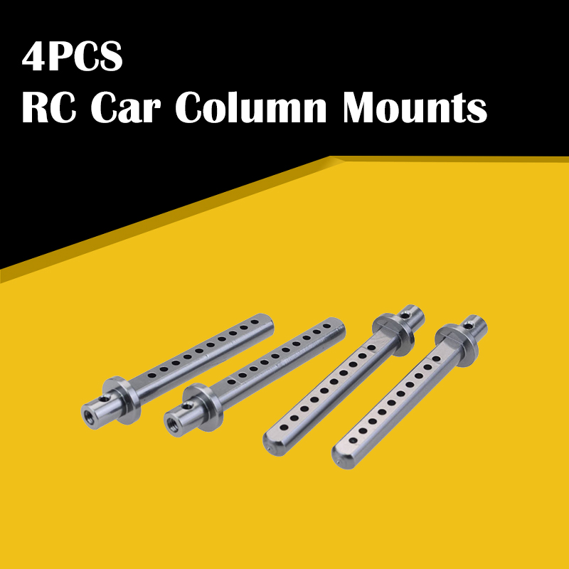 4PCS <font><b>RC</b></font> <font><b>Car</b></font> <font><b>Body</b></font> Shell Cover Pillar Column Mounts Post Holder with R pins For 1/10 <font><b>RC</b></font> Crawler <font><b>Car</b></font> Axial SCX10 90021 90022 90028 image
