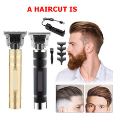 Pro Salon Haar Clippers Elektrische Haar Rasierer Haar Trimmer Haarschnitt Werkzeug Set Barber Shop Haar Trimmer Tragbare Haar Clipper(China)