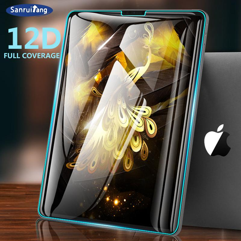 Tempered Glass For Samsung Galaxy Tab A 10.5 2018 A 10.1 2019 9D Curved Edge Screen Protector For Galaxy Tab S2 S4 S5e S6 Film