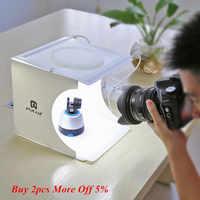 Mini Licht Box Doppel LED Licht Zimmer Foto Studio Fotografie Beleuchtung Schießen Zelt Hintergrund Cube Box Foto Studio Dropship Neue
