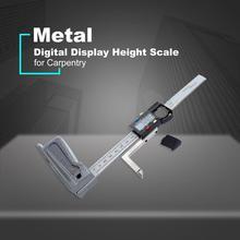 Mini Digital Höhe Gauge 0-150mm 0,01mm Messschieber Metall Elektronik Kennzeichnung Lineal Messen Glasritzrades