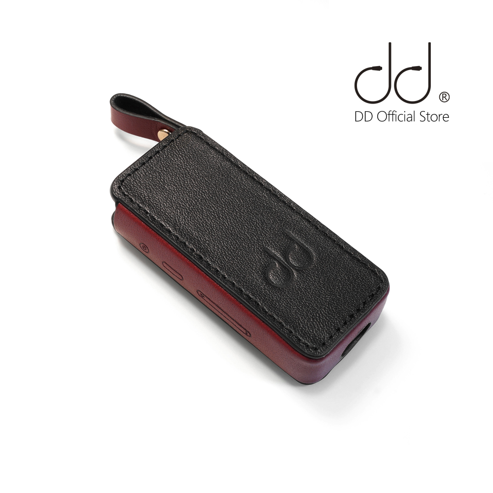 DD C-B5, Leather Case For FiiO BTR5 Bluetooth AMP, Bluetooth Adapter Cover, Black