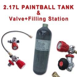 Acecare 2.17L CE Mini Scuba Tauchen Zylinder Pcp Air Tank Pcp Ventil 4500psi Paintball Tank Pcp Gewehr Airforce Pcp Condor ventil