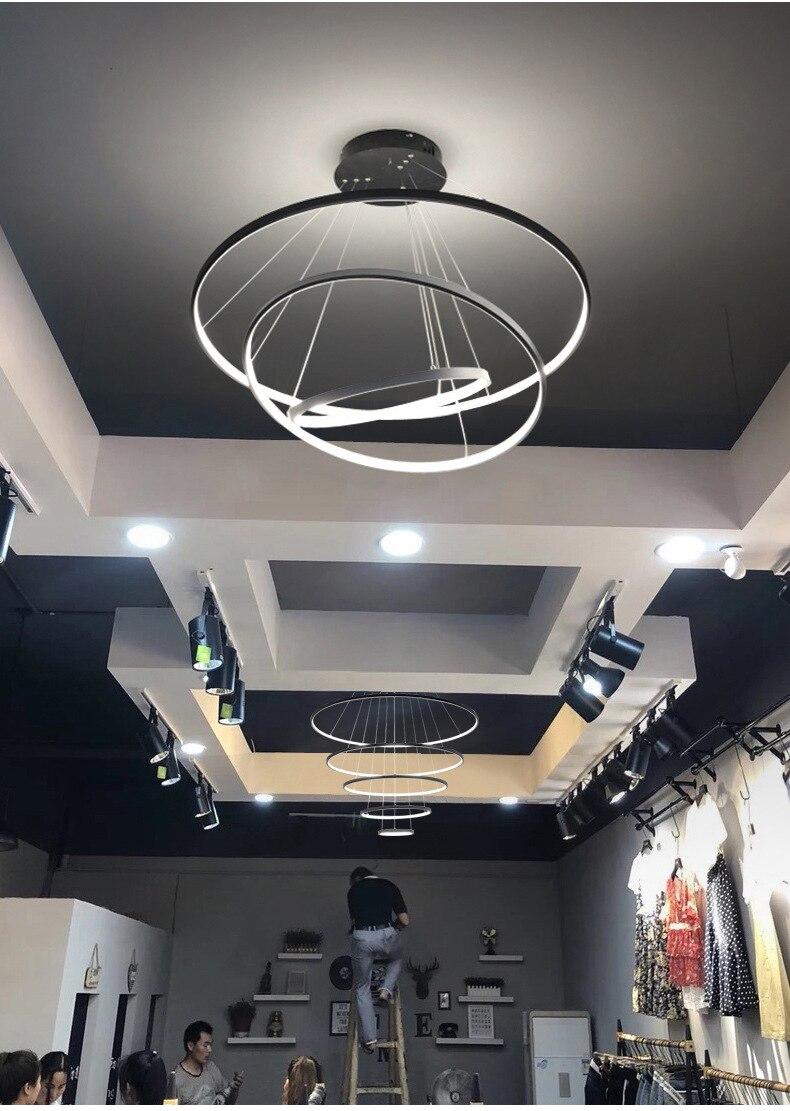 alumínio pingente lâmpada decoração casa luminárias