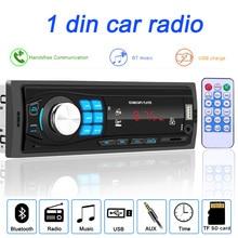 Bluetooth Autoradio 12V Auto Stereo Radio Fm Aux In Ingang Ontvanger Sd Usb In Dash 1 Din auto MP3 Multimedia Speler