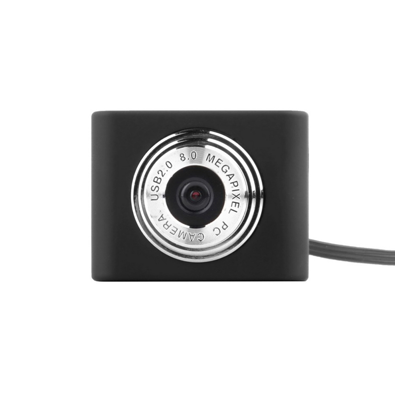 5 Million Pixels Mini Webcam HD Web Computer Camera with Microphone for Desktop Laptop USB Plug and Play for Video Calling