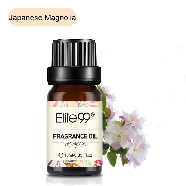Elite99 Japanischen Magnolia Duft Öl 10ml Blume Rosmarin Ätherische Öle Für Baden Aromatherapie-luftbefeuchter Luft Auffrischung
