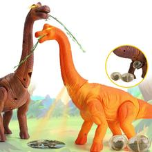 Electronic Egg Laying Walking Dinosaur Projection Moving Tail Model Kid Toy Gift