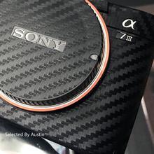 Anti scratch katmanlı cilt Wrap kapak koruyucu aşınma için kamera cilt Sony A7R4 A7R3 A7M3 A7R2 A7M2 A7 a6500a6400 a6000