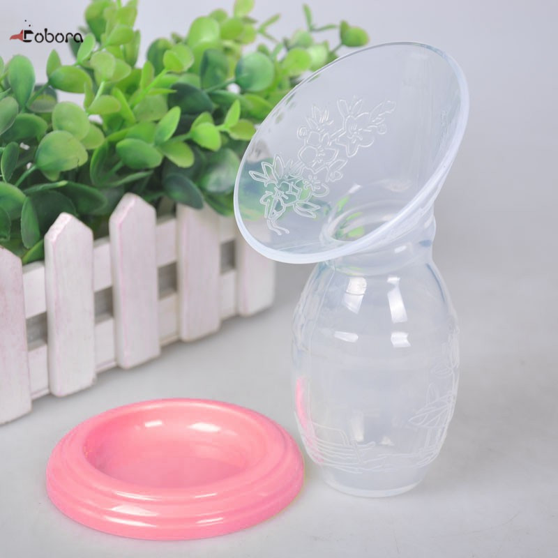 Hot Baby Feeding Manual Breast Pump Partner Breast Collector Automatic Correction Breast Milk Silicone Pumps USB PP BPA Free
