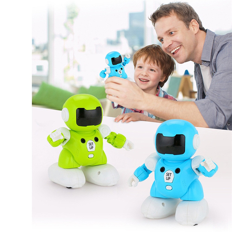 2.4G Remote Control Football Battle Robot Wisdom Dancing and Singing Intelligent Robot Children's Remote Control Gift image