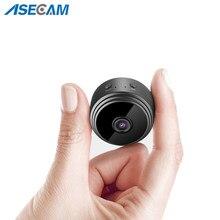 Mini câmera dv gravadores com ímã hd 1080p sem fio wifi câmera detecção de movimento visão noturna câmera de rede babá