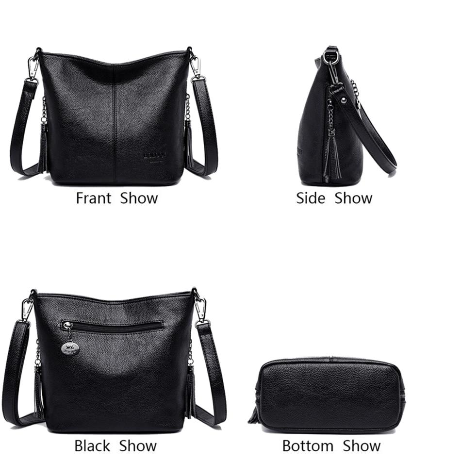 Image 3 - Ladies Hand Crossbody Bags For Women 2019 Luxury Handbags Fashion Women Leather Shoulder Bag Designer Women Bolsas Femininas Sac-in Shoulder Bags from Luggage & Bags