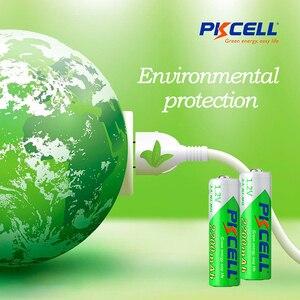Image 5 - 5 X PKCELL 배터리 AA 낮은 자체 방전 내구성 니켈 수소 1.2V 2200mAh AA 충전식 배터리 2A 배터리 원격 제어