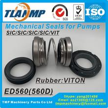 Replace Mechanical-Seals Burgmann ED560 Double-Face Material:sic/sic/sic-/.. 15/16/18-/..