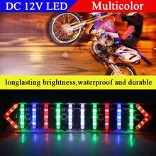 1 шт светодиодная лампа для мотоцикла