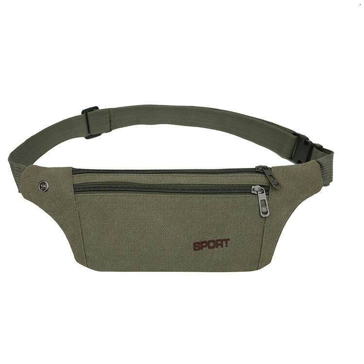 Manufacturers Direct Selling Outdoor Sport Waist Bag Wholesale New Style Canvas Bag Wearable Fitness Riding Mobile Phone Waist B