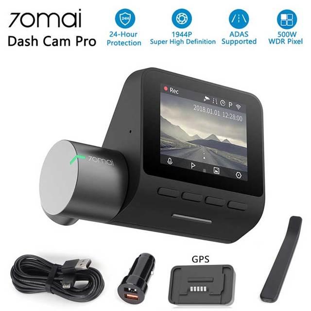 70mai Pro Dash Cam Car DVR 1944P HD GPS ADAS Camera IMX335 140 Degree FOV Night Vision Voice Control 24H Parking Monitor
