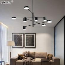 Nuovo moderno lampadario a LED luci camera da letto soggiorno Sala da pranzo salone Sala da interno creativo apparecchio lampade di illuminazione applicare a AC90-260V
