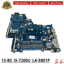 CSL50/CSL52 LA-E801P For HP 15-BS Laptop Motherboard 924751-