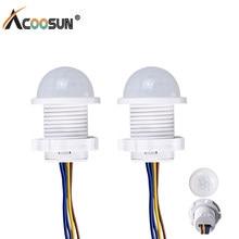 Módulo infravermelho 85-100 v 50hz 40w do detector de controle da indução do corpo humano do interruptor 220-265v do sensor de movimento de pir
