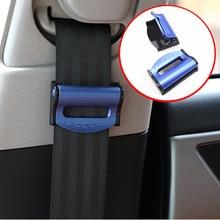 2 Pcs Car Vehicle Seat Belts Clips Safety Adjustable Stopper Buckle for Citroen C Quatre C Triomphe Picasso C1 C2 C3 C4 C4L C5