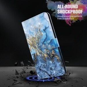 Image 3 - 3D สีสันโทรศัพท์กรณีสำหรับ Samsung Galaxy A01 A02S A10 A20 A20E A30 A50 A30S A50S A70 A40กระเป๋าสตางค์ฝาครอบหนัง