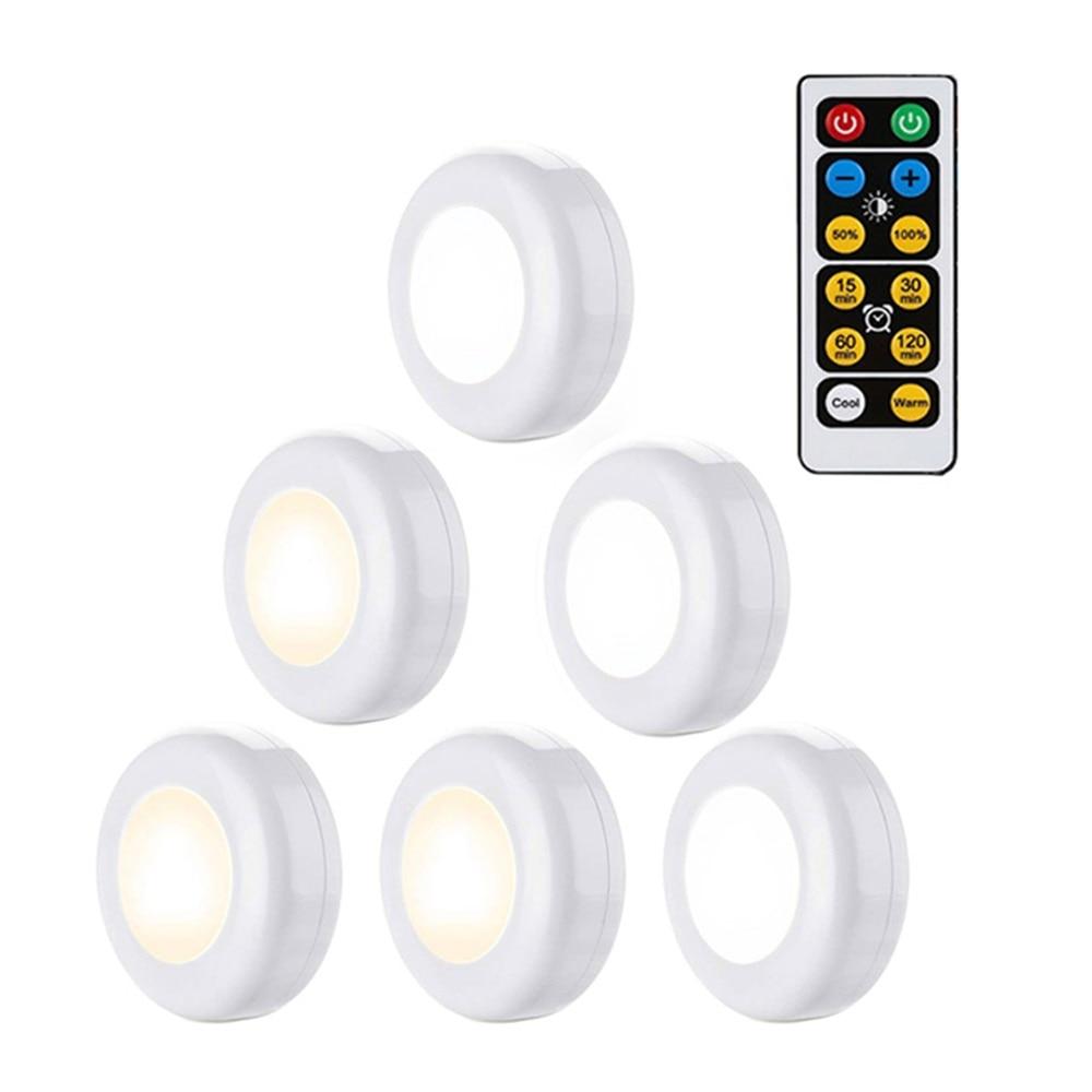 LED Night Light Wireless Light Wall Lamp Kids Bedroom Baby Feeding Closet Cabinet Stairs Light Night