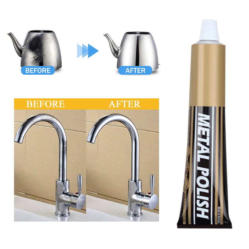 Cleaning Metal Rust Remover Chrome Maintenance Metal Surface Iron Powder New Quick Cleaner Car Bike Bicycle Kitchen TSLM2 Polish