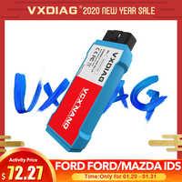 2 dans 1 scanner PCM d'automotivo OBD2 de WiFi des id V116, programmation d'abs NANO de VXDIAG VCX pour Ford pour l'outil diagnostique de voiture de Mazda obd2