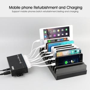 Image 2 - Sipolar 10 Port Multi USB 3.0 Hub High Speed Data Transfer Fast Charger Splitter External 12V5A Power Adapter For Phone Tablet