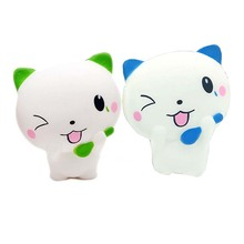 2020 Squishes slow rising squishi kawaii squishy for child squeeze animals squish squishies stress relief squishy cat