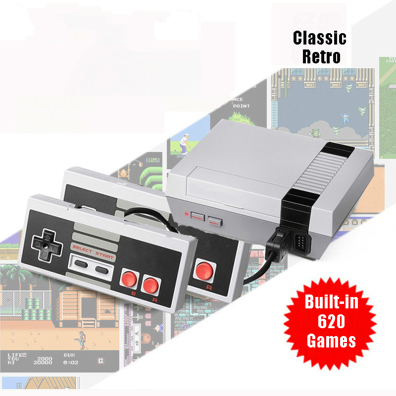 Mini TV Game Console 8 Bit Retro Video Game Console Built-In 620 Games Handheld Gaming Player Best Gift For Children