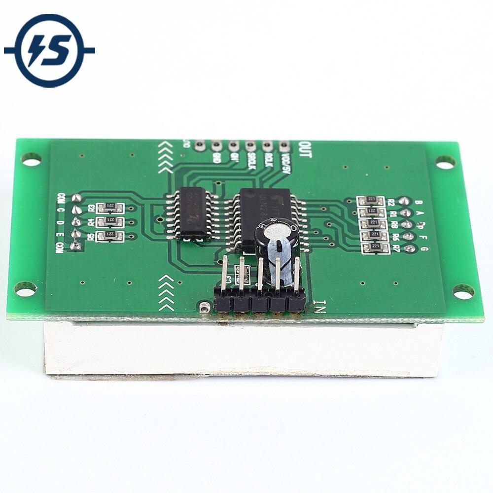 Red Digital Tube Digit LED Display Module 74HC595 ULN2803 Driver DC 5V 1.8in 1Bit