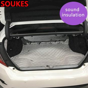 Izolacja akustyczna samochodu izolacja akustyczna mata z pianki tłumiącej dla Toyota Corolla Avensis RAV4 Yaris Auris Hilux Prius verso MG 3 ZR Buick tanie i dobre opinie STATICROUTE COTTON geyin02