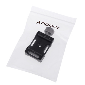 Image 5 - Andoer 38mm อลูมิเนียมสกรูลูกบิด MINI QUICK RELEASE CLAMP ใช้งานร่วมกับ ARCA Swiss 38mm QR PLATE