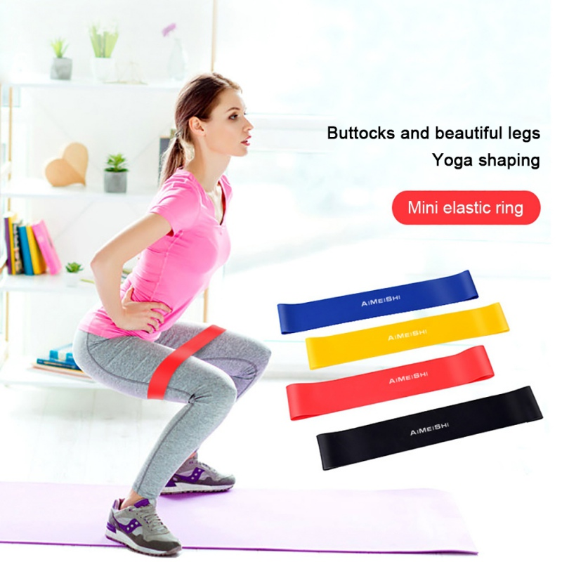 Resistance Loop Bands Exercise Bands For Home Fitness Stretching Strength Training For Legs And Butt Durable Uniform Thickness