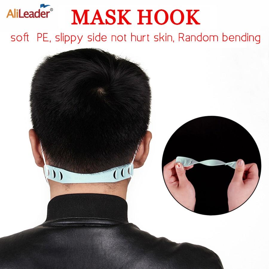 Alileader Hot Sale 6/12pieces Prevent Ear-pulling Adjustable Anti-Slip Mask Ear Hook Holder Accessories Buckle