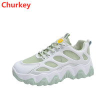 New Fashion Summer Sports Casual Shoes Woman Outdoor Running Light Breathable Mesh Lace-up Women Sneakers Feminism Free Shipping