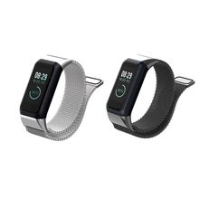 Smart Watch Band Wrist Band Fashion Milanese Stainless Steel Replacement Magnetic Strap Band for Huami Amazfit Cor 2 Smart Wrist цена и фото