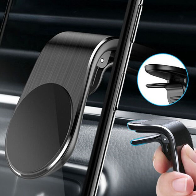 Metal Magnetic Car Phone Holder for <font><b>Mercedes</b></font> Benz W203 W211 CLK C180 E200 AMG C E S Class image