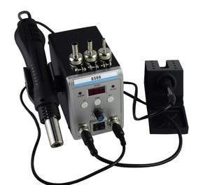 Image 4 - New Eruntop 8586  Electric Soldering Irons +DIY Hot Air Gun Better SMD Rework Station