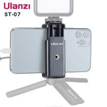 Ulanzi ST 07 chaussure froide support de téléphone étendre chaussure froide pour Vlog Microphone lumière LED Vlog trépied support de téléphone