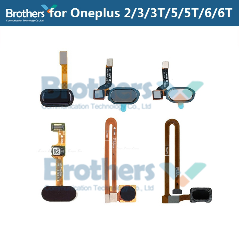 For Oneplus 2 3 3 5 5T Fingerprint Flex Cable 1+3 3 3T For Oneplus 5 5T Home Button Sensor Scanner Flex Cable Phone Replacement