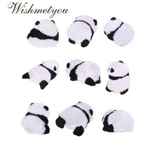 WISHMETYOU NEW China National Treasure Panda Cartoons Cute Animals Patches For Clothing Embroidery Dress Accessories DIY