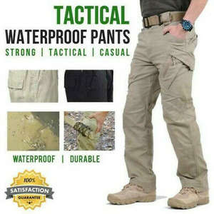 Waterproof Pants SWAT Cargo Combat Military IX9 Casual Men City Hombre